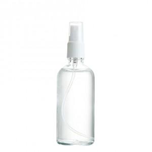 100ml Clear Glass with Spray